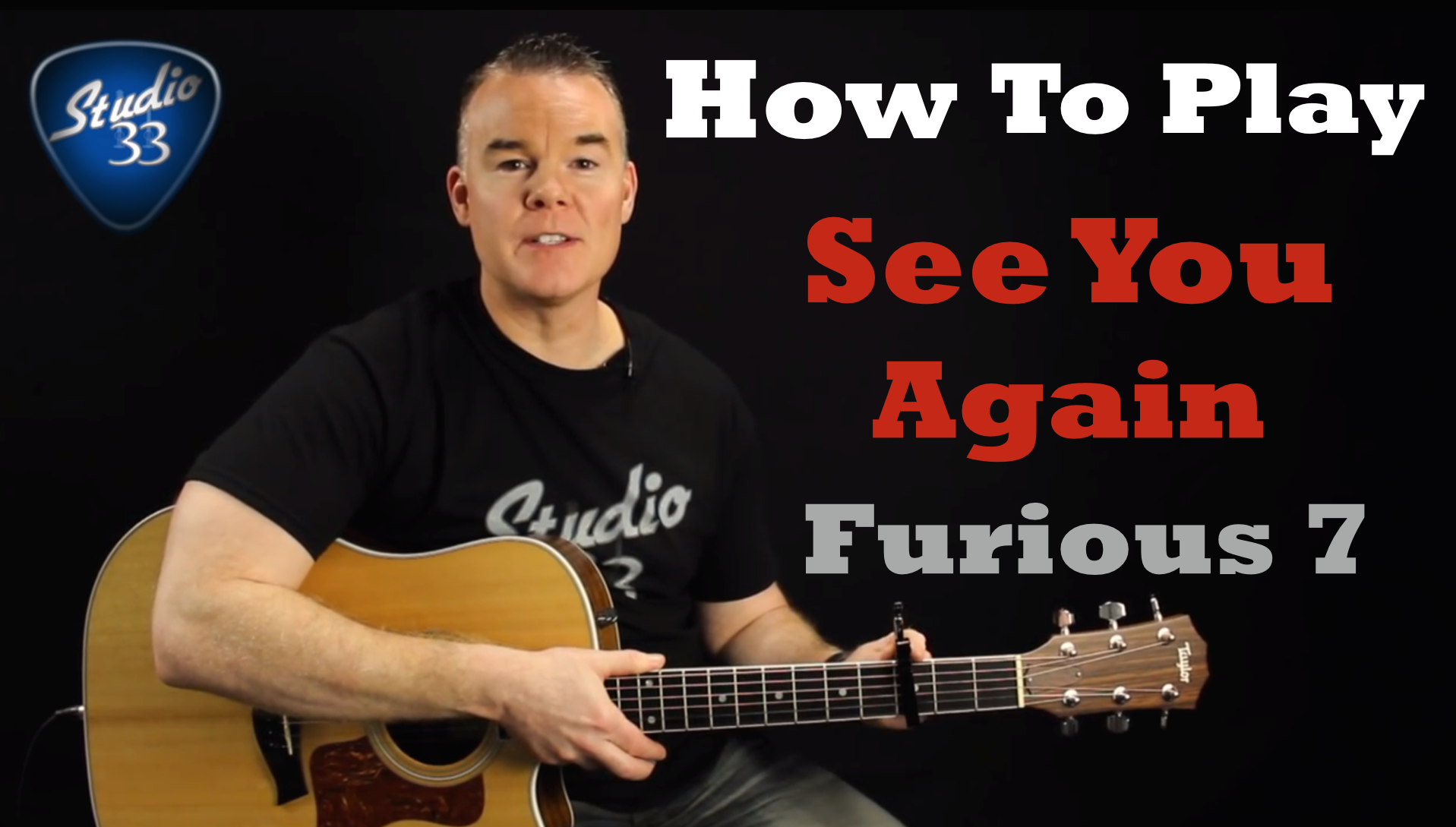 How to play See You Again on Guitar