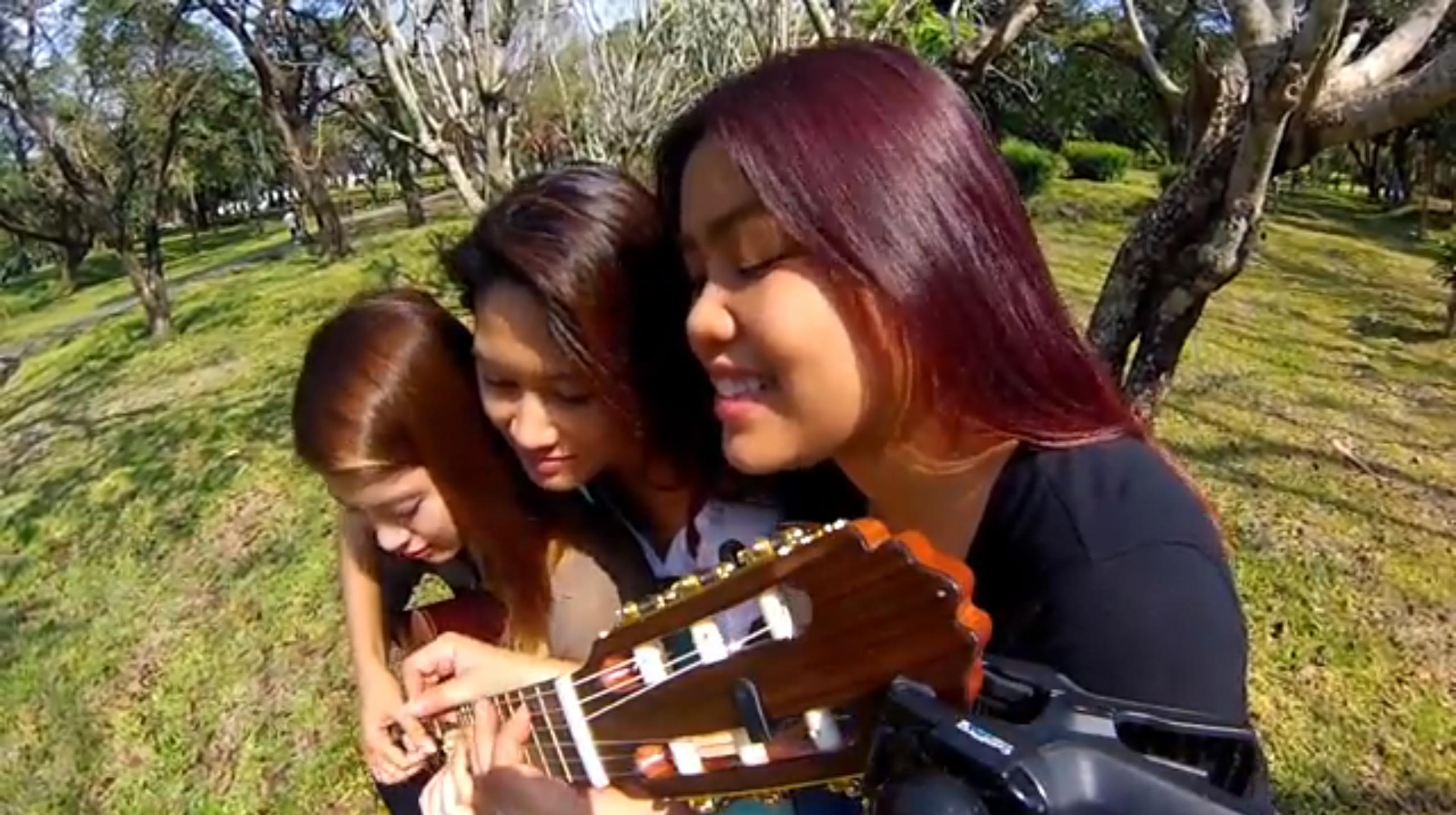 Three Girls, One Guitar
