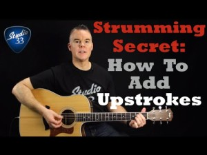 How-to-Add-Upstrokes-300x225 Free Online Guitar Lessons