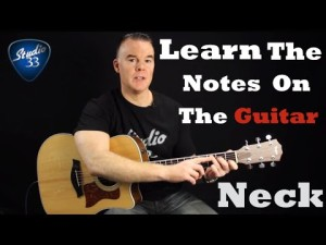 Learn-The-Notes-on-the-Guitar-Neck-300x225 Free Online Guitar Lessons