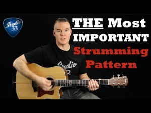 The-Most-Important-Strumming-Pattern-300x225 Free Online Guitar Lessons