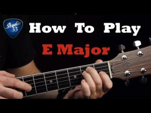 How-to-Play-the-E-Major-Chord-300x225 Free Online Guitar Lessons