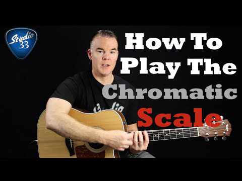 How-to-Play-the-Chromatic-Scale Free Online Guitar Lessons