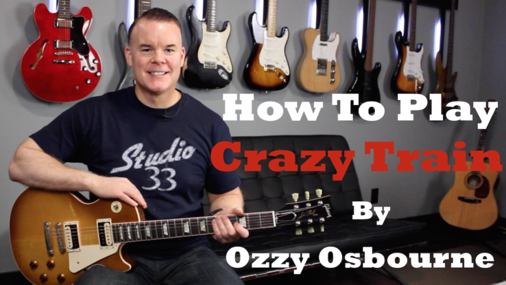 How to play Crazy Train