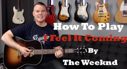 How To Play I Feel It Coming - The Weeknd