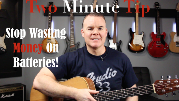 Two Minute Tip #4 stop wasting money on batteries